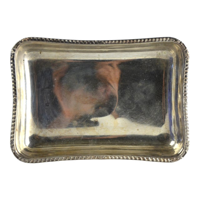 Vintage Petite Silver Tray - Image 1 of 5