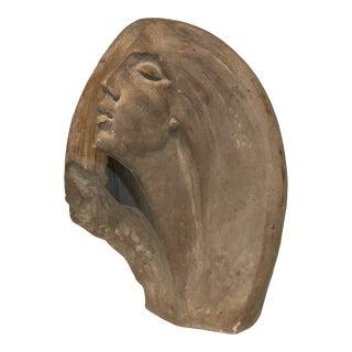 """1980 Austin Productions Inc. """"Stargazer"""" Art Deco Woman Sculpture For Sale"""