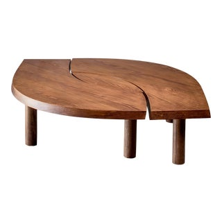 Pierre Chapo T22 l'Oeil Coffee Table in Pine, 1960s For Sale