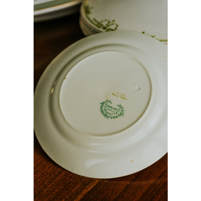 1920s Vintage W. H. Grindley & Co. China Dishes and Serving Platter For Sale - Image 6 of 10