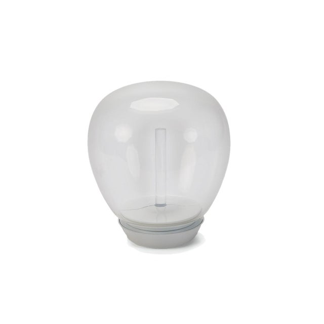 2010s Artemide Led Hand Blown Glass Globe Table Lamp For Sale - Image 5 of 5
