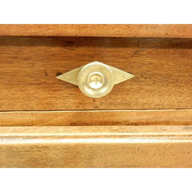 Early 19th French Walnut Enfilade For Sale - Image 9 of 11