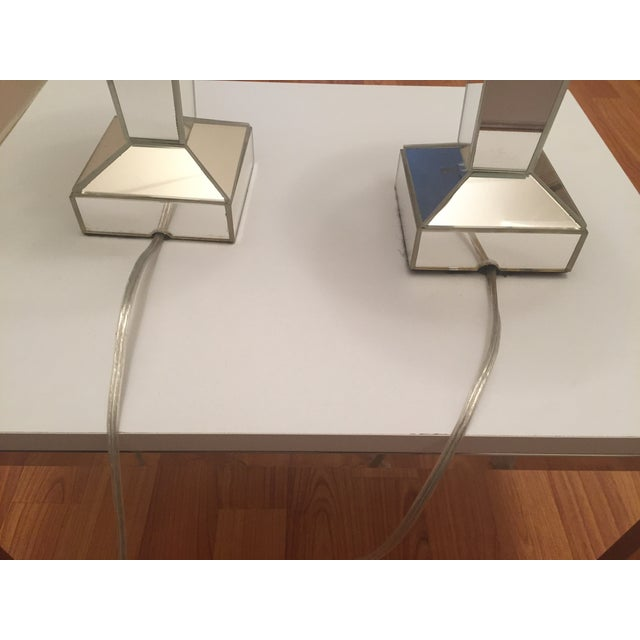 Venfield Mirrored Candlestick Lamps - Pair - Image 5 of 6