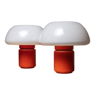 Pair of Model 625 Desk Lamps by Elio Martinelli for Martinelli Luce For Sale