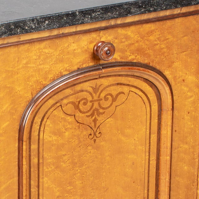 19th Century French Charles X Style Cabinet For Sale - Image 9 of 13
