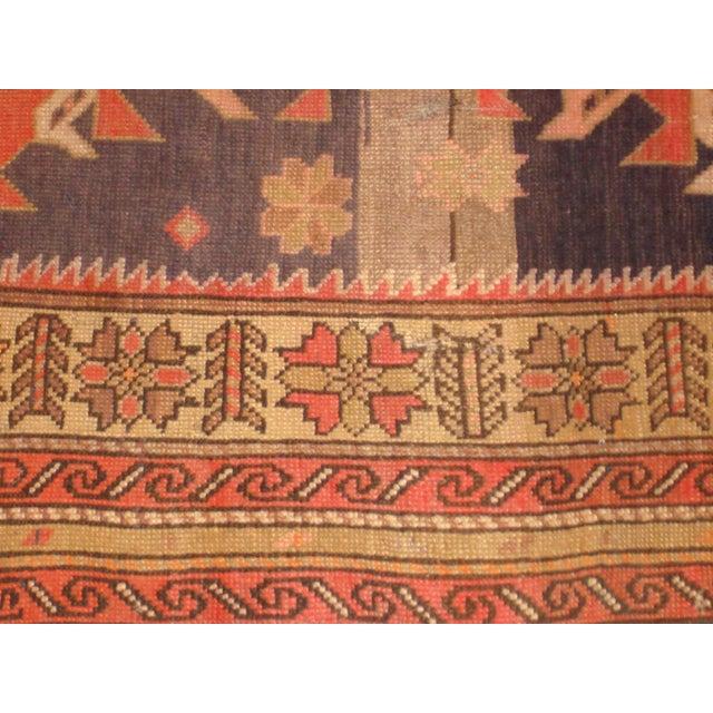"""Antique Karabagh Rug - 7'1"""" x 3'9"""" - Image 3 of 4"""