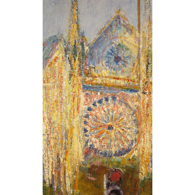 Impressionist Original Oil Painting on Canvas by Anton Sipos, For Sale - Image 3 of 7