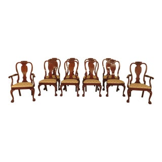 Henkel Harris Model #120 Cherry Dining Room Chairs - Set of 10 For Sale