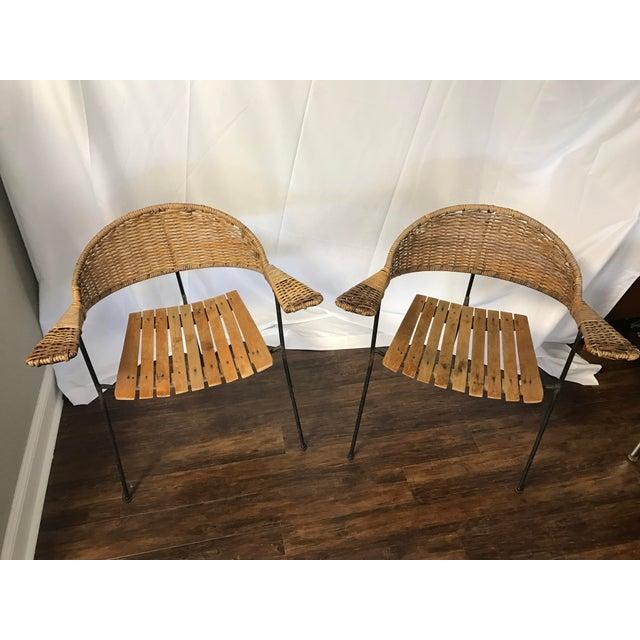 Mid-Century Arthur Umanoff Chairs - A Pair - Image 4 of 5