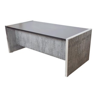 1970s Brutalist Desk by Billy Joe McCarroll & David Gillespie Santa Barbara For Sale
