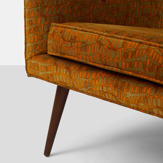 Textile Milo Baughman- Lounge Chair For Sale - Image 7 of 8