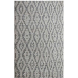 Aara Rugs Inc. Hand-Knotted Wool & Cotton Rug - 10′2″ × 13′4″ For Sale
