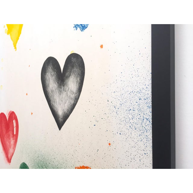 Jim Dine Rare Vintage 1970 Framed Silkscreen Print Whitney Museum Collector's Pop Art Exhibition Poster For Sale - Image 11 of 13