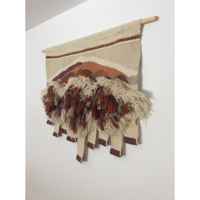 Vintage Bingaman Textile/Fiber Art/Macramé For Sale - Image 4 of 10