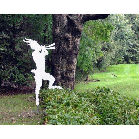 Whimsical Figure of Pan - Image 2 of 10