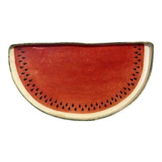 Watermelon Paper Mache Tray
