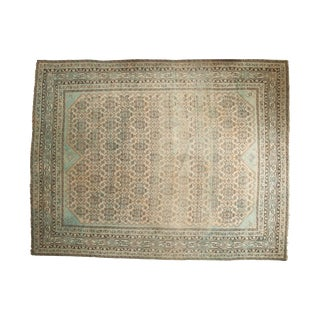 "Vintage Distressed Malayer Carpet - 8'11"" X 11'6"""