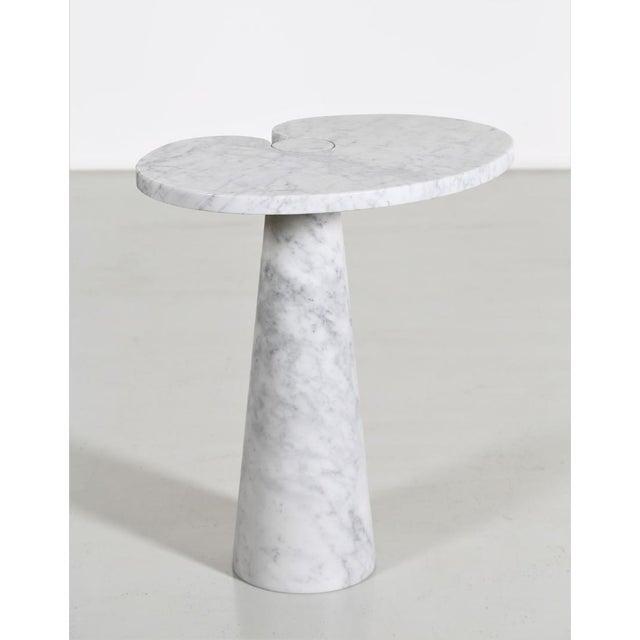 1970s Angelo Mangiarotti Carrara Marble Table For Sale - Image 5 of 5