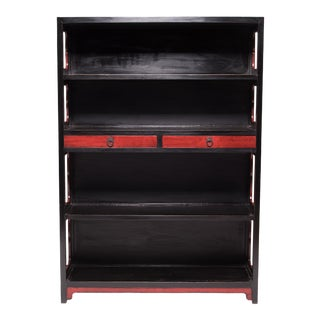 19th Century Chinese Lacquered Scholars' Shelf For Sale