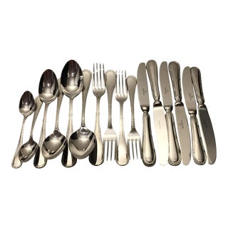 Villeroy & Boch Kreuzband Septfontaines Stainless Steel Flatware - Set of 16