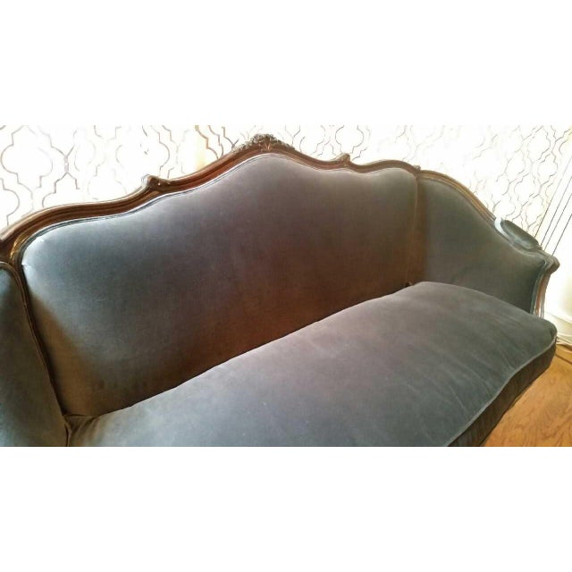 Vintage French Style Louis XV Sofa For Sale In San Francisco - Image 6 of 12