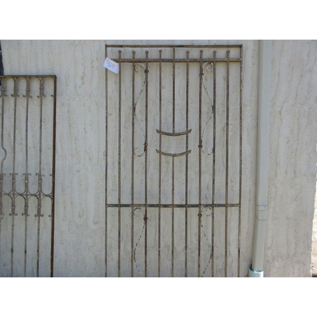 Antique Victorian Iron Gate For Sale - Image 5 of 7