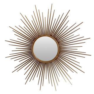 Stamped Chaty French Sunburst Mirror