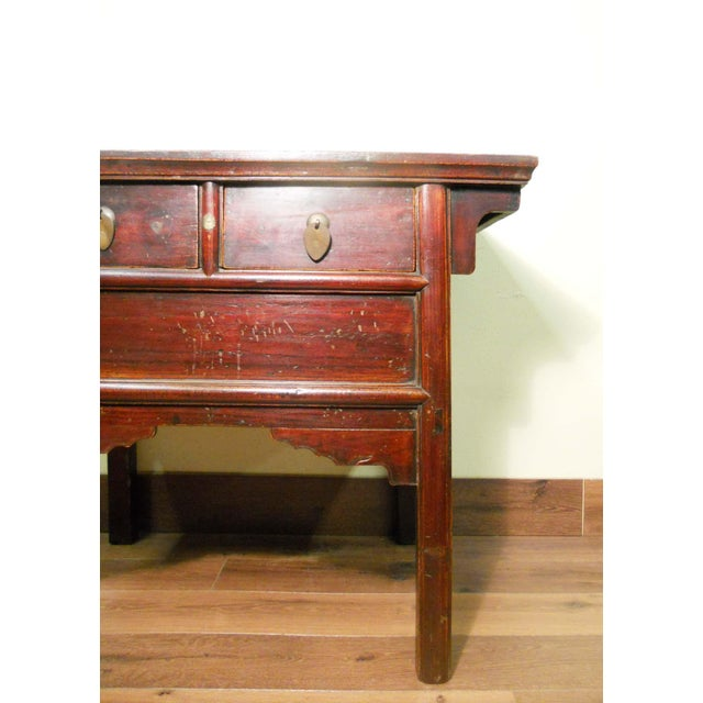 Antique Chinese Ming Altar Cabinet - Image 3 of 9