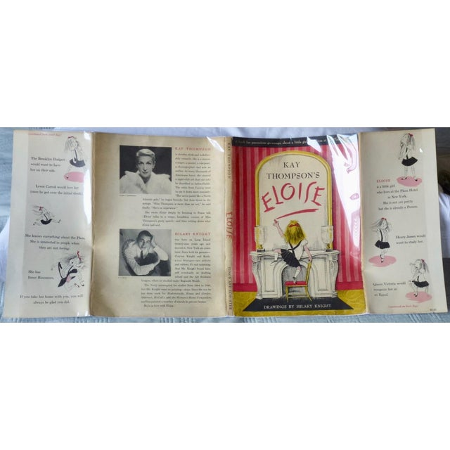 Eloise by Kay Thompson and Hilary Knight. New York: Simon & Schuster, 1955. Stated first printing, with original,...