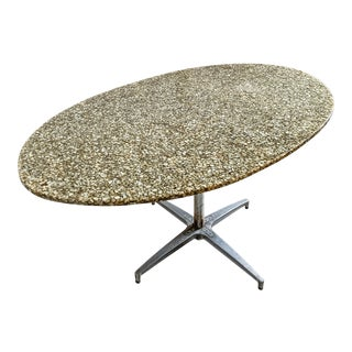 20th Century Resin Oyster Shell Dining Table For Sale