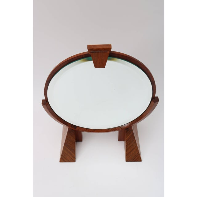 This artisan piece will make the perfect addition to your Mid-Century dressing table with its adjustable angle mirror,...