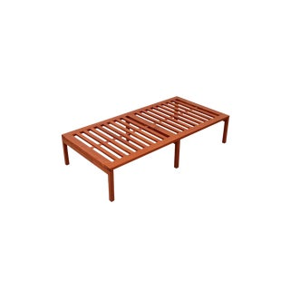 Hans Wegner Teak Slat Bench For Sale