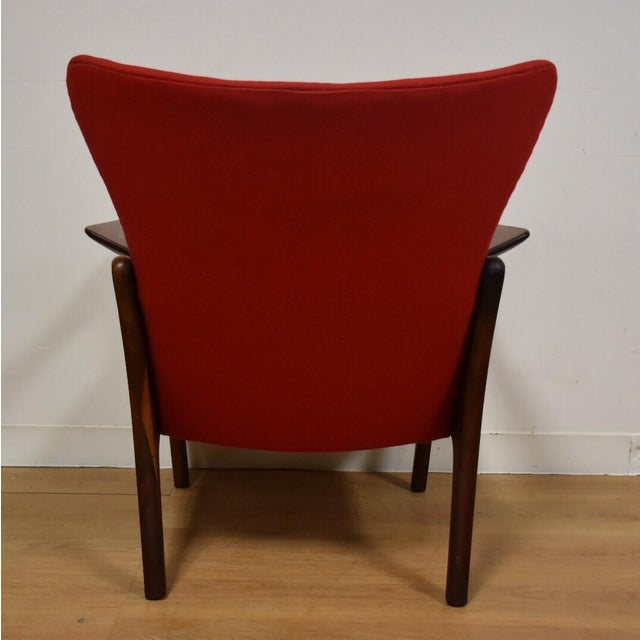 Adrian Pearsall Wing Back Lounge Chair For Sale In Boston - Image 6 of 11