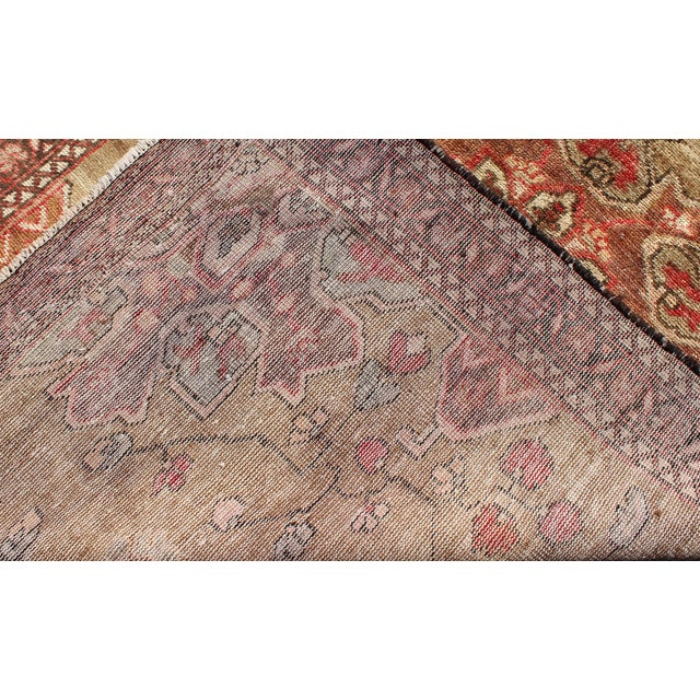 Vintage Mid-Century Persian Rug - 4′2″ × 6′4″ For Sale - Image 10 of 11