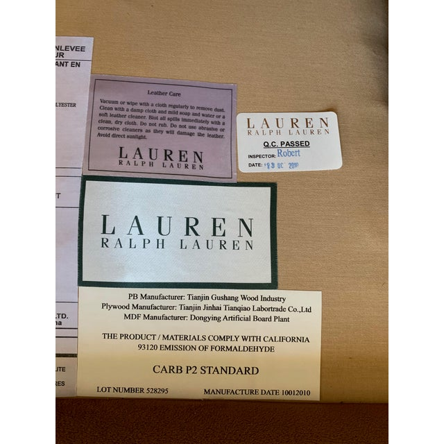 Ralph Lauren Langholm Sofa in Like New Condition For Sale - Image 9 of 11