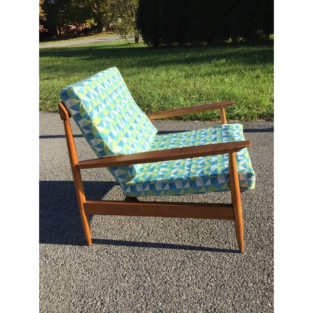 Wilhelm Knoll Knoll Antimott Lounge Chair For Sale - Image 4 of 13