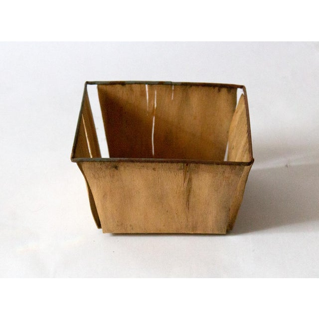 1950s Boho Chic Metal Berry Baskets - Set of 3 For Sale In Dallas - Image 6 of 10