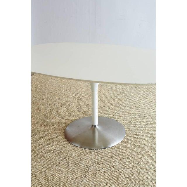 Contemporary Eero Saarinen Oval Tulip Table For Sale - Image 11 of 13