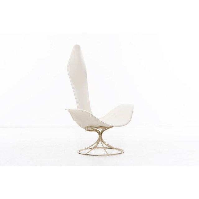 1960s Estelle and Erwine Laverne Pair of Tulip Chairs For Sale - Image 5 of 10