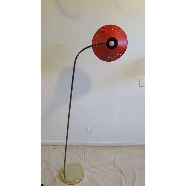Mid-Century Modern 1950 Maison Lunel Floor Lamp For Sale - Image 3 of 10