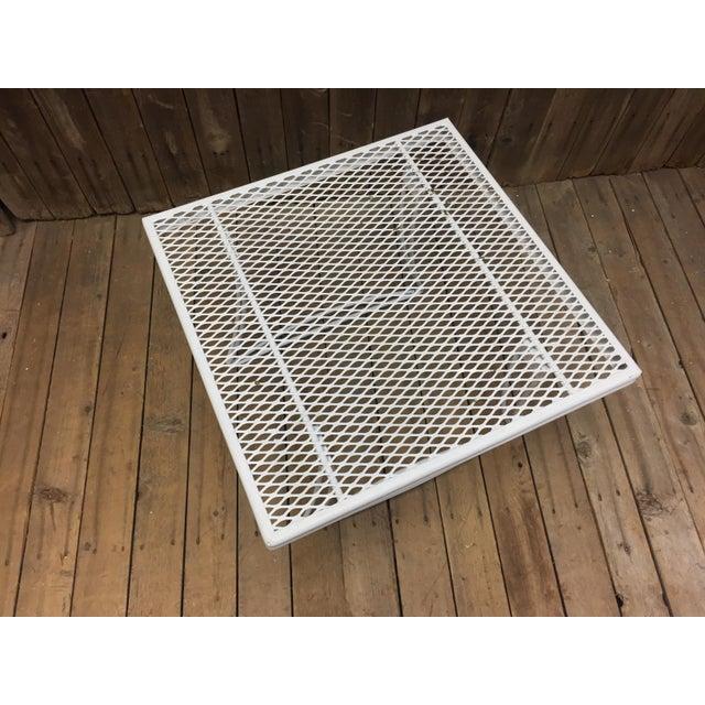 Mid Century Modern White Homecrest Side Table - Image 5 of 11
