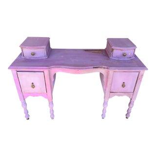 Antique Painted 1920s Desk