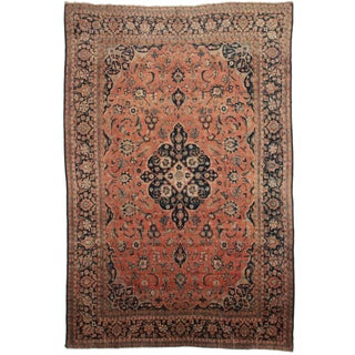 Hand Knotted Persian Tabriz Rug - 10′1″ × 14′1″ For Sale