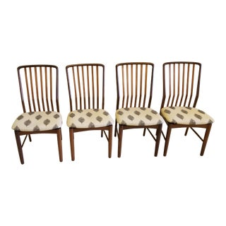 1970's Svend Madsen for Morreddi Mid Century Dining Chairs - Set of 4 For Sale