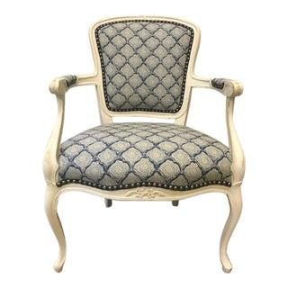 Vintage Reupholstered Armchair