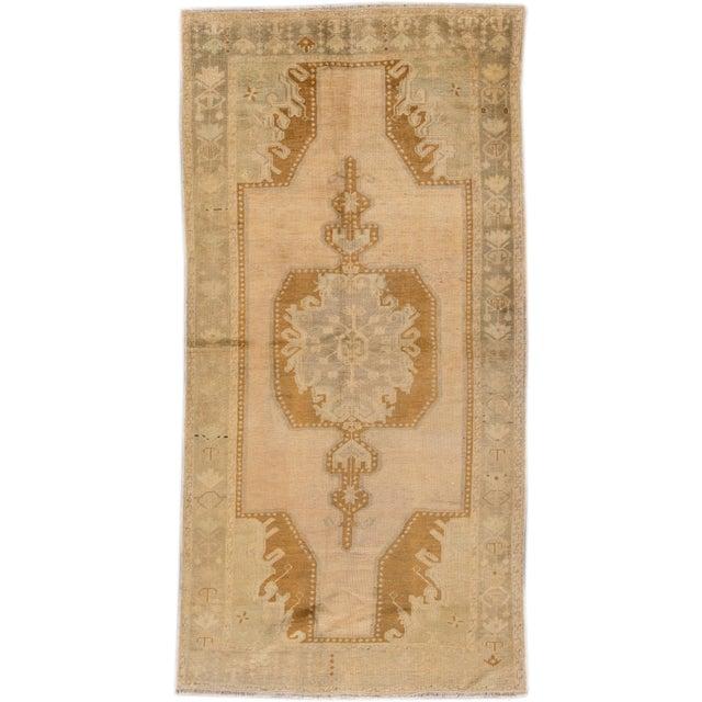"Apadana - Vintage Khotan Rug, 8'11"" X 4'6"" For Sale - Image 4 of 4"