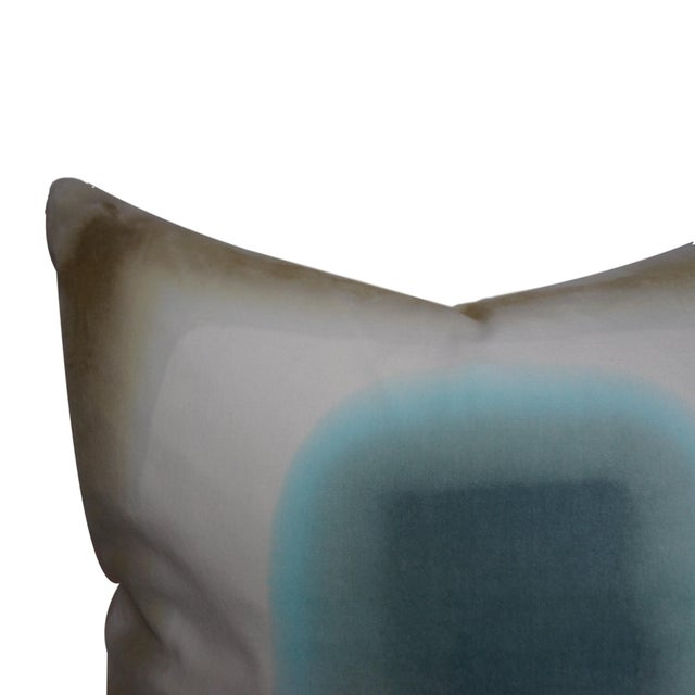 Contemporary Hand-Dyed Velvet Pillow by Daisy Sullivant IV For Sale - Image 3 of 3