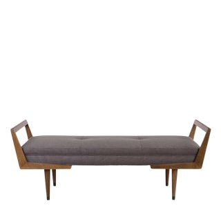 Mid-Century Style Bench For Sale