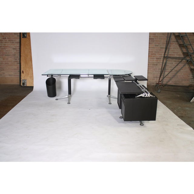 Contemporary Bruce Burdick Executive Desk for Herman Miller For Sale - Image 3 of 12