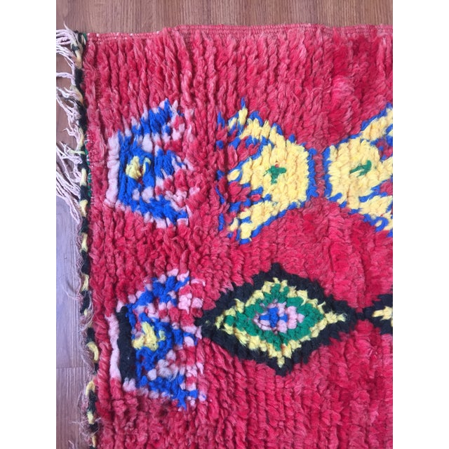 "Vintage Moroccan Berber Rug - 5'5"" x 9'10"" For Sale In Los Angeles - Image 6 of 8"